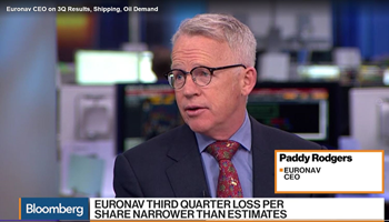 Euronav CEO Paddy Rodgers on Bloomberg TV