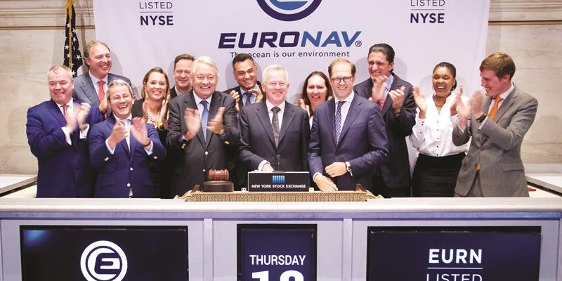 Euronav listed on the NYSE